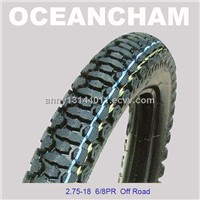 Cross Country Motorcycle Tyres for Sale 2.75-18