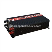 DC-to-AC Car Power Inverter with 3,000W Power, Circuit Protection, CE and RoHS Marks