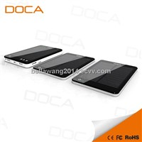 DOCA D595 Newest Arrival Mp3 Solar Charger 10000mAh
