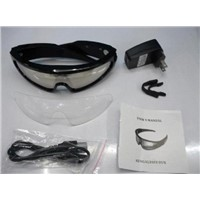 DV78 4GB Sky Goggles Sunglasses Water resistance from rain or sweat