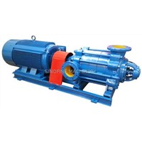 D Type Multistage Centrifugal Water Pump Single Suction , Hydraulic Energy Saving