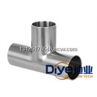 Diye Weld End Sanitary Tee