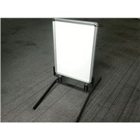 Double Sided Iron Base Sidewalk Sign