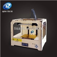 Dual Nozzles 3D Printer,DIY desktop 3d printer, Dual Extruder FDM 3D Printer