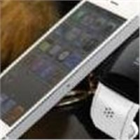 EF-1 Bluetooth Vibrating Bracelet Watch for iPhone Mobile Phone Time Display/Caller ID