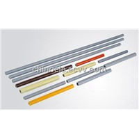 Epoxy Resin Fiberglass Tube, Combination Tube, Fuse Tube, Fuse Holder, 25mm, 30mm, Grey
