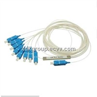 Fiber Optic PLC Splitter 1x8