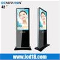 "Floor standing 42"" inch iphone design pop shopping mall kiosk for advertising(MAD-420C)"
