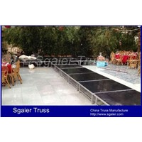 Folding wedding stage steel stage for sale