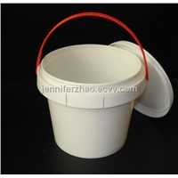 900ml Plastic Food  Bucket/ Candy  Jar with Handle and Lid,Any Sizes