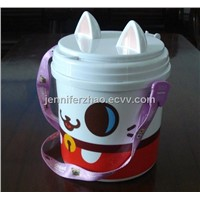 Food  Plastic Bucket,Popcorn Packaging Bucket,Any Printing Accepted