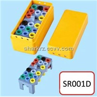 Foshan Rongzhuo 26 Holes Dental Endo Box/Dental Bur Block/Dental Bur Holder