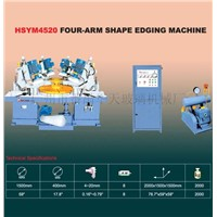 Four-arm Shape Edging Machine