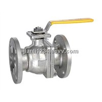 GB flanged floating ball valve