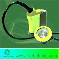 GJ6.0-A coal mining cap lamp with rechargerable NI-MH battery