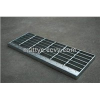 Galvanized Composite Steel grating with Steel plate