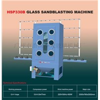 Glass Sandblasting Machine(HSP330B)