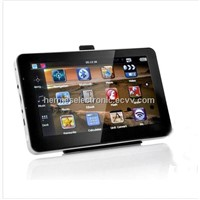 HD 800*480 7 inch GPS Navigator with FM Bluetooth &AVIN 4GB load new 3D map load Navitel or IGO map