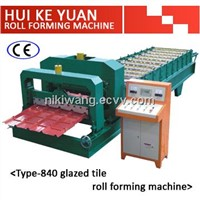 HKY Good Quality Glazed Tile Roll Forming Machine