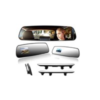 HS-810 Rearview Mirror (single lens) 1080P compression format: H.264 high-end ultra-thin