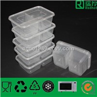High Quality Plastic Food Container for Packing 650ml