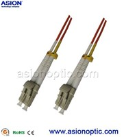 High quality LC to LC fiber optic patch cable multi mode duplex