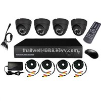 Home security 4ch CCTV DVR Kit