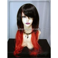 Hot Style High Temperature Synthetic Fiber Wig