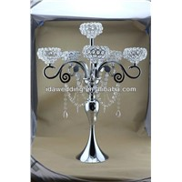 crystal silver table centerpiece chandelier table top centerpieces for Wedding