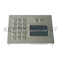 IP65 Waterproof Industrial Touchpad With Keypad