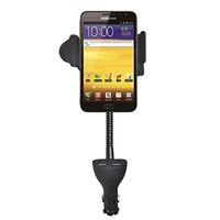 In car cell phone cradle holder and usb charger