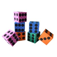 Kids eva toy foam dice