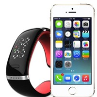 L12 New Fashion Wireless Smart Bluetooth Bracelet Bluetooth Car Kit Handsfree Watch