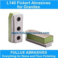 L140 Diamond Fickert Abrasives for Granite Polishing
