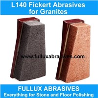 L140 LUX Fickert Abrasives for Granite Polishing