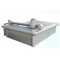 LCD backlight film layer knife digital cutter smooth and clean blade cutting