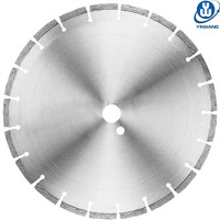 Laser Welded Green Concrete Saw Blades for Cutting Asphalt and Concrete