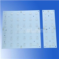 Lens attached Ultra-thin LED module sheet backlight signs
