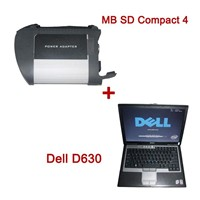 MB SD Connect Compact 4 Star Diagnosis Plus Dell D630 Laptop with v2014.03 Version