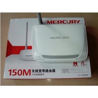 MERCURY MW150R 150Mbps 11N 802.11b/g/n Wireless 4-Port WIFI Lan Broadband Router