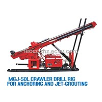 MGJ-50L Crawler Type Anchor Drilling Rig With Diesel