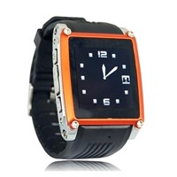 MQ668 Bluetooth smart watch phone GSM unlocked with camera black color