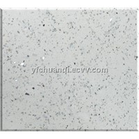 Man-made marble for flooring