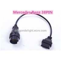 Mercedes BENZ Sprinter 38 Pin To OBD2 Cable 16 Pin Auto Diagnostic Tools Benz 38PIN Cable