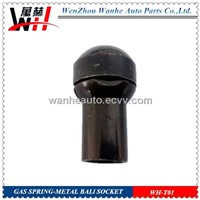 Metal ball socket /metal end fitting for gas spring