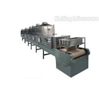 Microwave sauce sterilizing equipment
