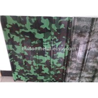 Military color steel coil