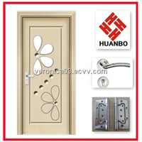 Modern design interior MDF wooden PVC doors