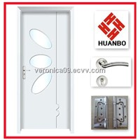Modern design interior wooden PVC mdf doors