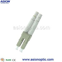 Multi mode duplex LC optical fiber connector